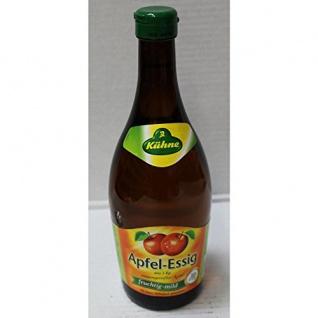 Kühne Apfel-Essig aus 1kg sonnengereiften Äpfeln (0, 75l Flasche)