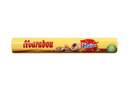 Marabou Schokoladenrolle mit Karamell und Daim Füllung 67g 7er Pack