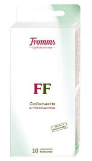 MAPA Fromms FF 10 Kondome SB Blockpackung mit Spezialgleitfilm
