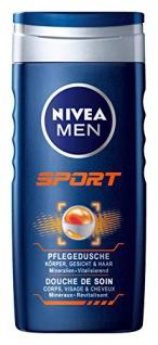 Nivea Sport for Men Pflegedusche mit 24h Frischegefühl 250ml 4er Pack