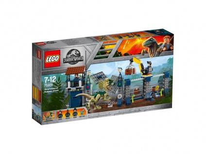 Lego Jurassic World 75931 Angriff des gefährlichen Dilophosaurus