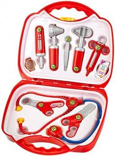 Spielwaren Arztkoffer + Zubehör