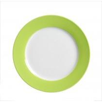 Ritzenhoff und Breker Doppio grün weiß Frühstücksteller 20cm