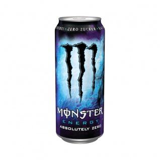 Monster Absolutely Zero koffeinhaltiges Erfrischungsgetränk 500ml