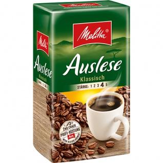 Melitta Auslese klassisch gemahlener Kaffee Geschmacksintensiv 500g