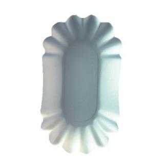 """Papstar 11273 250 Schalen Pappe """" pure"""" oval, 10.5 x 17.5 x 3 cm, weiß - Vorschau"""