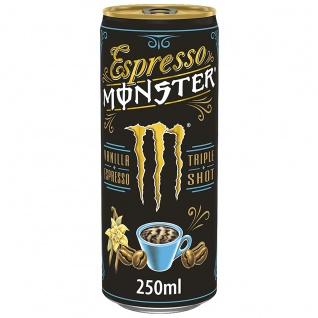Monster Espresso Vanille Triple Shot Milchmischgetränk 250ml