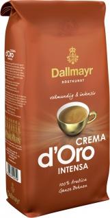 Dallmayr Crema d Oro intensa ganze Arabica Bohnen Röstkaffee 1000g