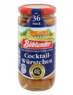 Böklunder Cocktail-Würstchen in Eigenhaut, ca. 36 Stück, 380g