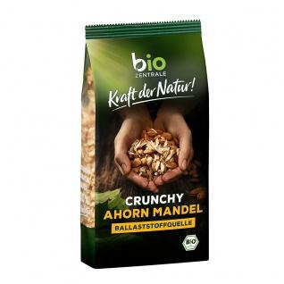 Biozentrale Crunchy Volkornmüsli Ahorn Mandel 375g 3er Pack
