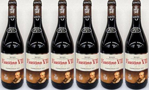 Faustino VII Tinto DOC trocken kraftvoll weich elegant 750ml 6er Pack
