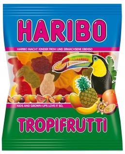 Haribo Tropifrutti Mix Fruchtgummi 6 Geschmacksrichtungen 200g