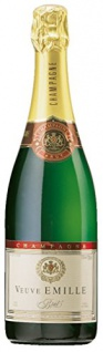 CHAMPAGNE VEUVE EMILLE unverwechselbare Brut Cuvee Champagner 750ml