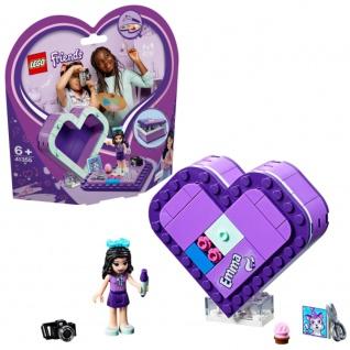 Lego 41355 Friends mit einer baubaren Emmas Herzbox bunt 132g