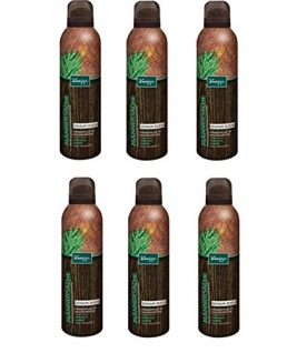 Kneipp Schaum-Dusche Männersache Zedernholz Jojobaöl, 6er Pack (6 x 200 ml)