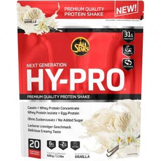 All Stars Hy Pro Vanille Protein Shakes Nahrungsergänzungsmittel 500g