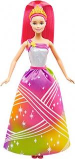 Mattel Barbie Zauberhafte Regenbogenlicht Prinzessinmit Geräuschen DPP90