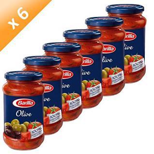 3x Barilla Sauce 'Olive', 400 g