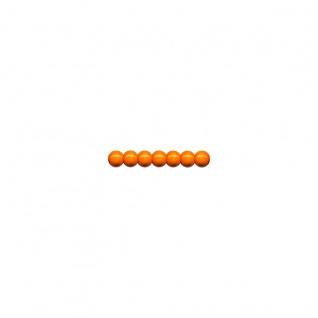 Meyco schweiß und speichelfeste Holzperlen 85 Stück in 8mm Orange