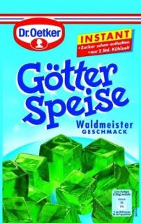 Dr. Oetker Götterspeise Instant Waldmeister, 100g