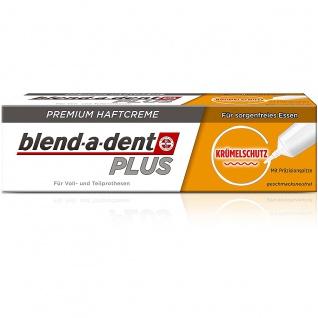 blend-a-dent Premium Haftcreme mit Krümelschutz je 40g 3er Pack