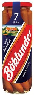 Böklunder Premium Wiener im Saitling, 7 Stück, Abtropfgewicht 330 g