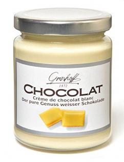 Weiße Schokoladencrème 250g. Grashoff. 6 Stk.