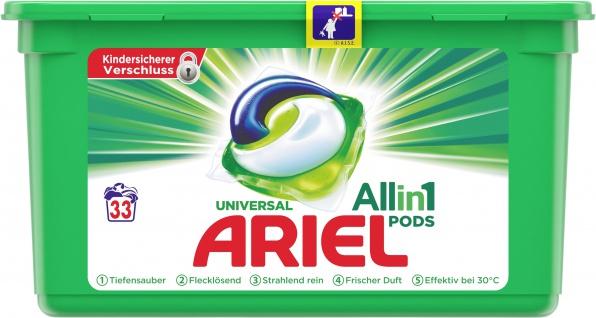 Ariel ALL-IN-1 Vollwaschmittel Pods Regulär 30Gr - 33WL