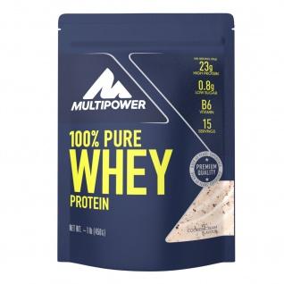Multipower 100% Pure Whey wasserlösliches Protein Cookies & Cream 450g Beutel
