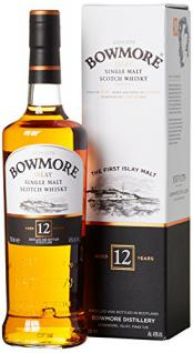 Bowmore 12 Jahre Islay Single Malt Scotch Whisky (1 x 0.7 l)