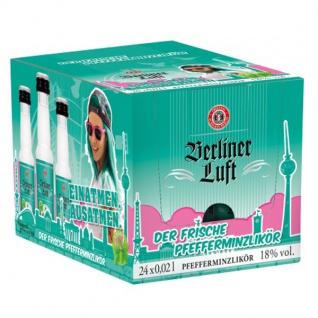 Berliner Luft Pfefferminzlikör vegan und glutenfrei 20ml 24er Pack