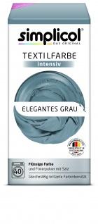 Simplicol Fluessige Textil-F. Intensiv Elegantes Grau