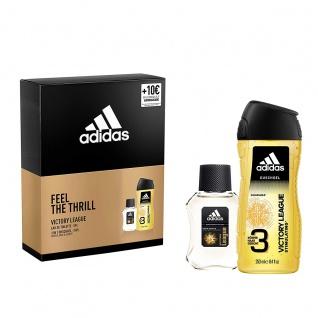 Adidas Victory League Geschenk Set EDT 50ml und Duschgel 250ml