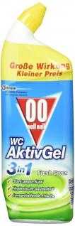 00 null null WC Aktiv-Gel 3in1, WC-Hygienereiniger, Fresh Green, 750 ml