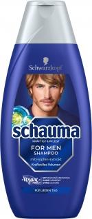 SCHAUMA SHAMPOO FOR MEN 400 ML