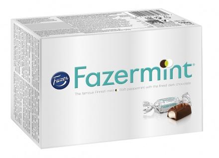 Fazermint Chocolate Creams Minzgefüllte Schokolade 150g 2er Pack