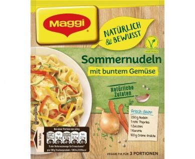 Maggi Fix Sommernudeln mit buntem Gemüse Natürlich und Bewusst 38g