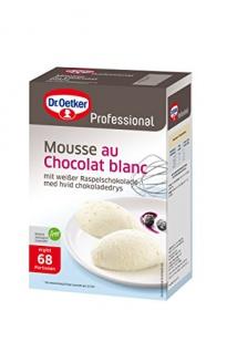 Dr. Oetker Mousse au Chocolat balnc 1 kg, 1er Pack (1 x 1 kg)