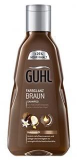 Guhl Shampoo Farbglanz Braun, 250ml