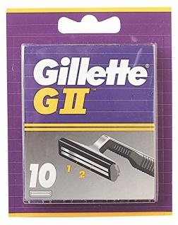 Gillette GII Klingen, (1 x 10 Stück)