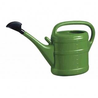 Gießkanne 10 l grün Aufsteckbrausekopf aus hochwertigem Kunststoff