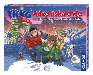 Kosmos TKKG junior Adventskalender Experimentierkasten für Kinder