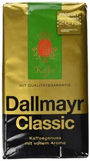 Dallmayr Kaffee Classic gemahlen kräftige Vollaromaröstung 500g