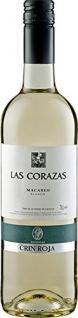 Bodegas Crin Roja Las Corazas Macabeo Weißwein aus Spanien 6x750ml