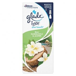 Glade by Brise One Touch Minispray Raumduft Nachfüller Bali Sandelholz & Jasmin 10ml 3er Pack