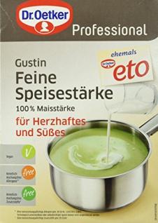 Dr. Oetker Gustin feine Speisestärke 2.5 kg, 1er Pack (1 x 2.5 kg)