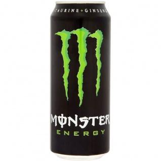 Monster Energy Drink Erfrischungsgetränk mit Koffein 500ml 2er Pack