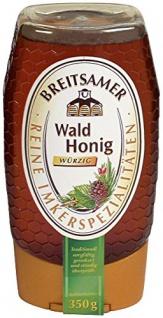 Breitsamer Honig Themenpender: Der Energie Spender, Waldhonig, 350 g