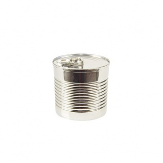 Papstar Fingerfood Becher Tin can Farbe silber aus Polystyrol 110ml