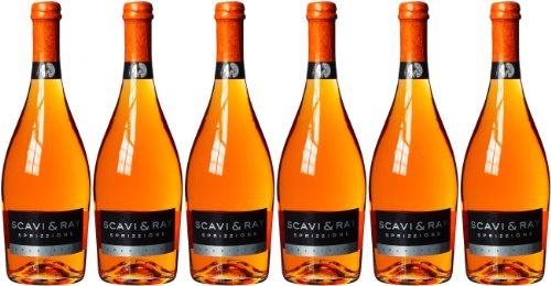 Scavi & Ray Sprizzione trocken aromatisch und prickelnd 750ml 6er Pack